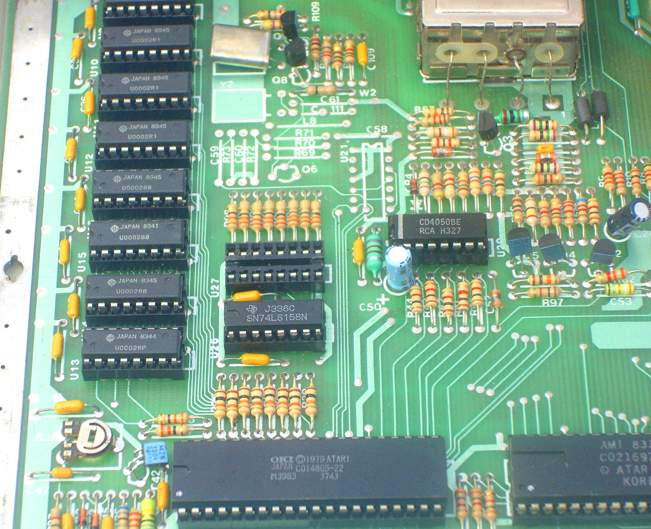 We Have Sold The Wizztronics 256k Ram Bare Upgrade Board Pcb To Gold Plated Circuit Provided 1 Spaced Ribbon Cable Will Soldered Into Side Edge Marked U23 5 Solder Pads On Right Of